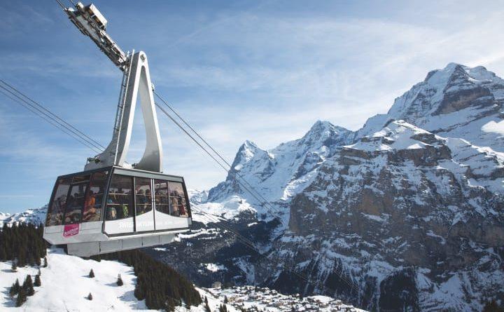 Schilthornbahn - Bild (c) Jungfrau Region Tourismus, Markus