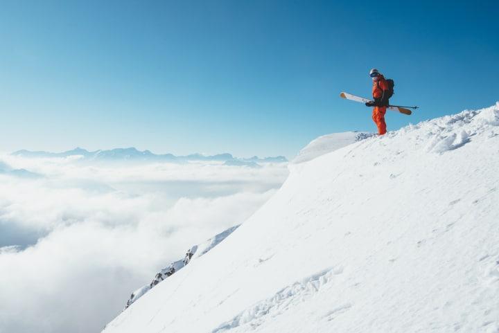 Freeskier Simon Charriere - Bild © Schweiz Tourismus
