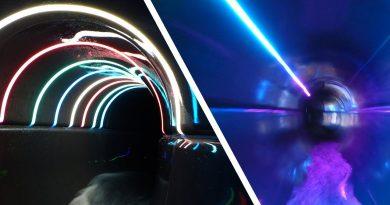 Black Hole Röhrenrutsche :: Northern Light Slide   De Scheg Deventer