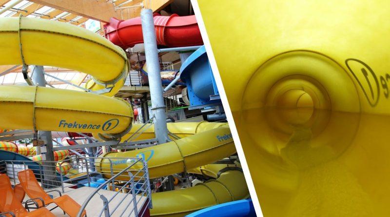Body Slide :: gelbe Röhrenrutsche | Aquapalace Prag