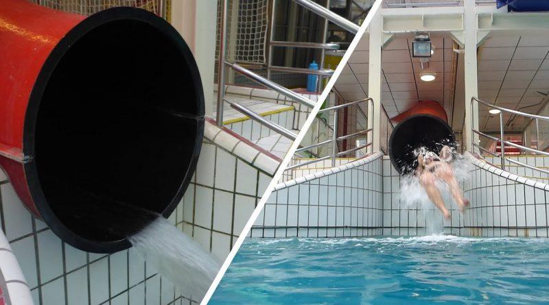 Cannon Ball :: Short Tube Slide   Tikibad Duinrell Wassenaar