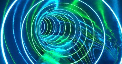 Black Hole Speed Slide :: Colorful Tube Slide | Holstentherme Kaltenkirchen [NEW 2017]
