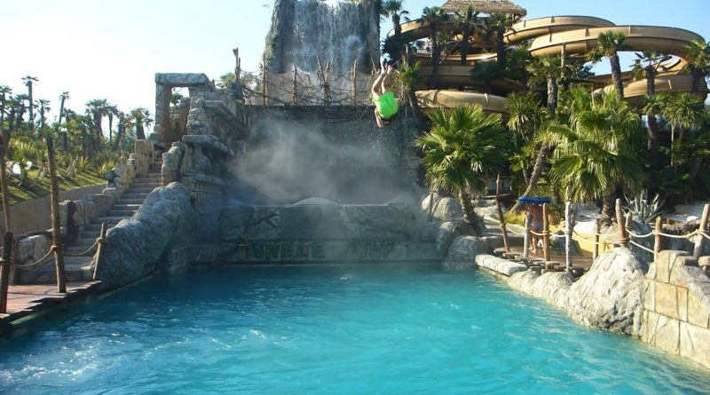 Jungle Jump :: Extreme Cannon Ball Slide | Aqualandia Jesolo