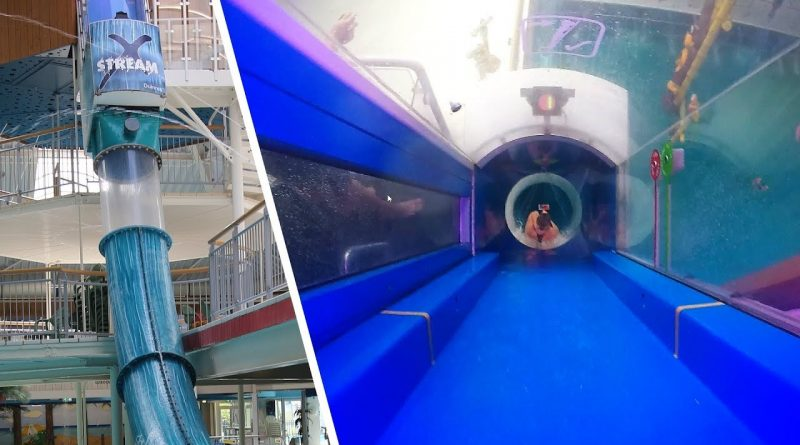 "Raketenstart-Rutsche ""X-Stream"" :: Speed-Rutsche | Tikibad Duinrell Wassenaar"