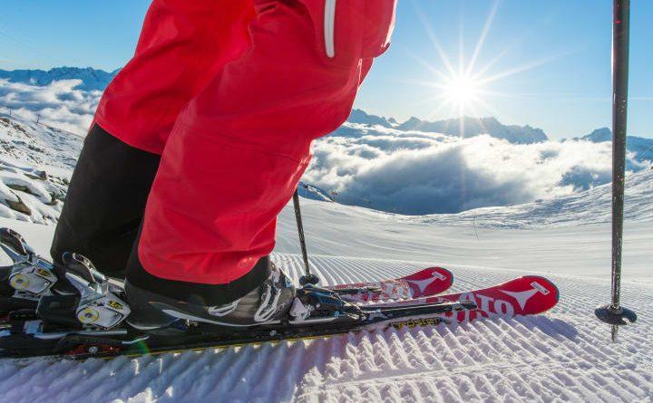 First Track Skifahren in der Aletsch Arena im Wallis. Bild: Schweiz Tourismus