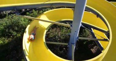 Freibad Heilsbronn - Riesenrutsche Onride