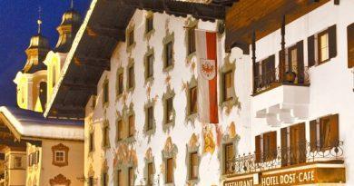 Das Hotel Post im Winter - Bild (c) Hotel Post
