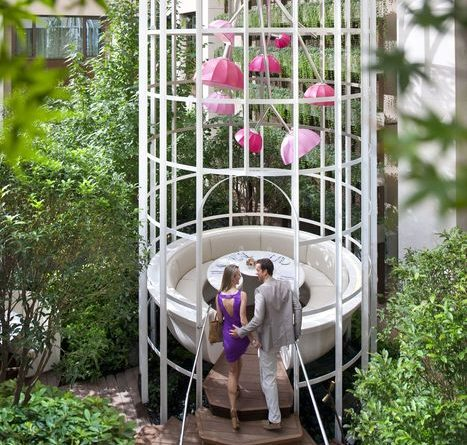 Restaurant im Vogelkäfig - Bild © Mandarin Oriental Hotel Group