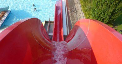 Freibad Nordhorn - Freefall / Speed-Rutsche Onride