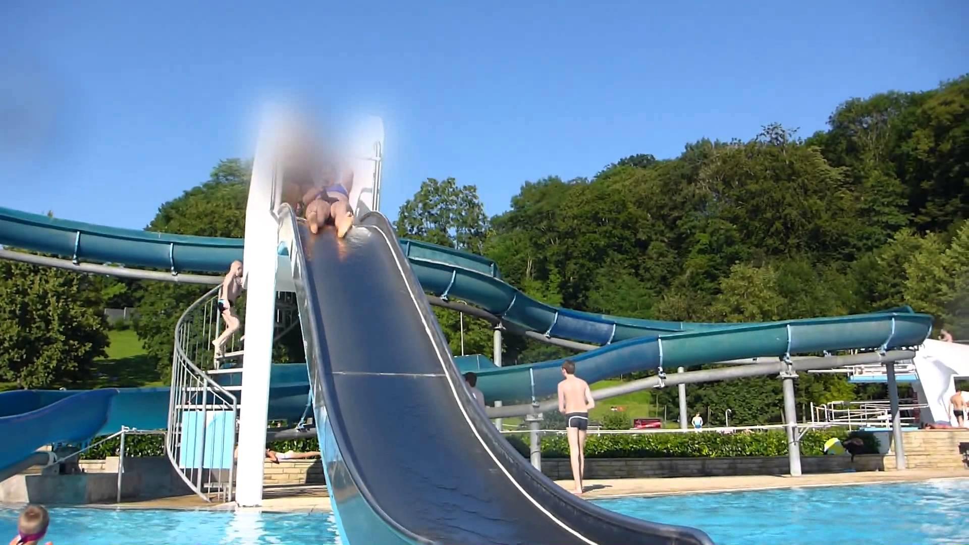 Freizeit- und Familienbad Müllheim - Beckenrutsche Onride