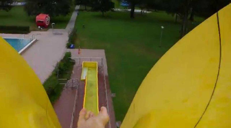 Sommerbad Fürth - Freefall Speed-Rutsche Onride