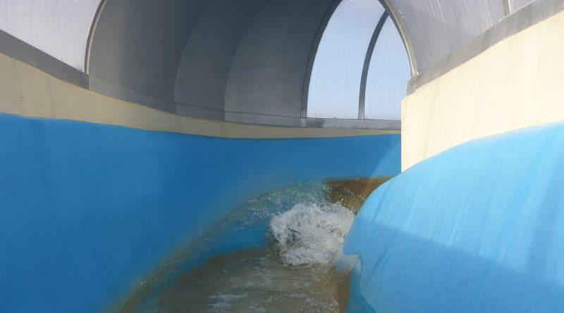 Freizeitbad Greifensteine Geyer   Wildwasser Rutsche Onride