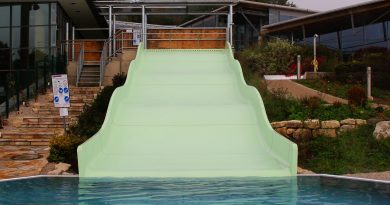 Outdoor-Breitrutsche :: Wave Slide | Therme Obernsees Mistelgau