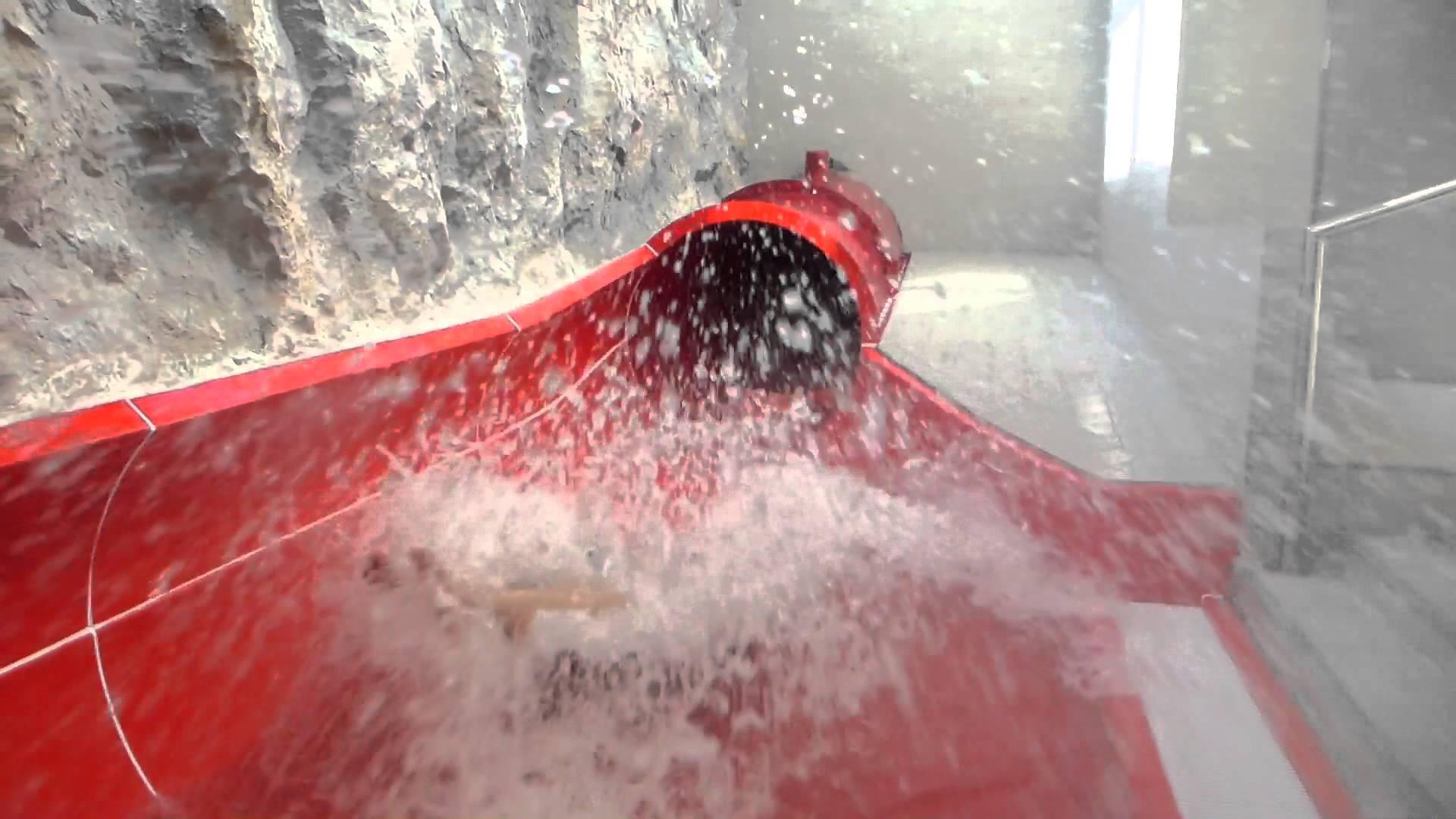 Speed-Röhrenrutsche (Turbo!)   AquaCity St. Pölten