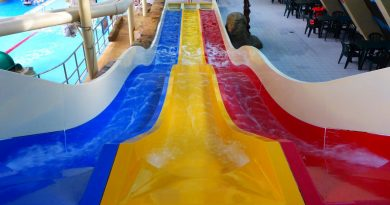 Treetops Water Chutes :: Triple Slide | Sandcastle Waterpark Blackpool