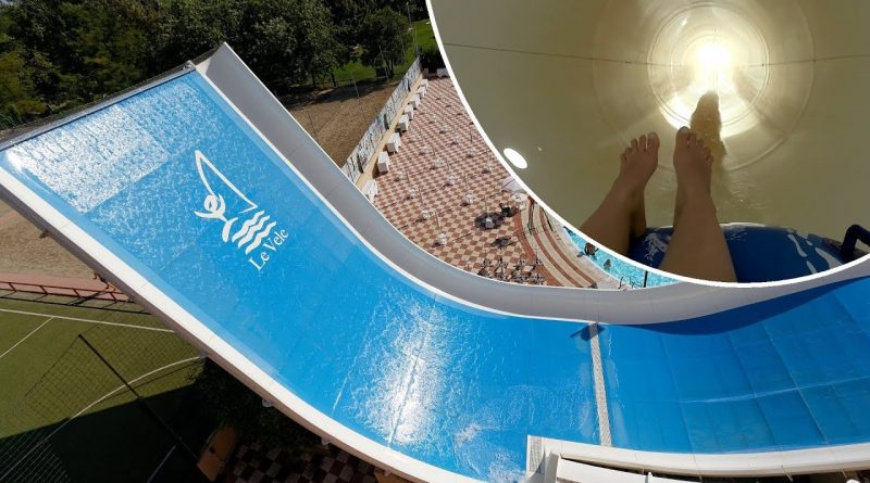 Speedy :: Half Pipe Reifenrutsche | Le Vele Acquapark San Gervasio Bresciano