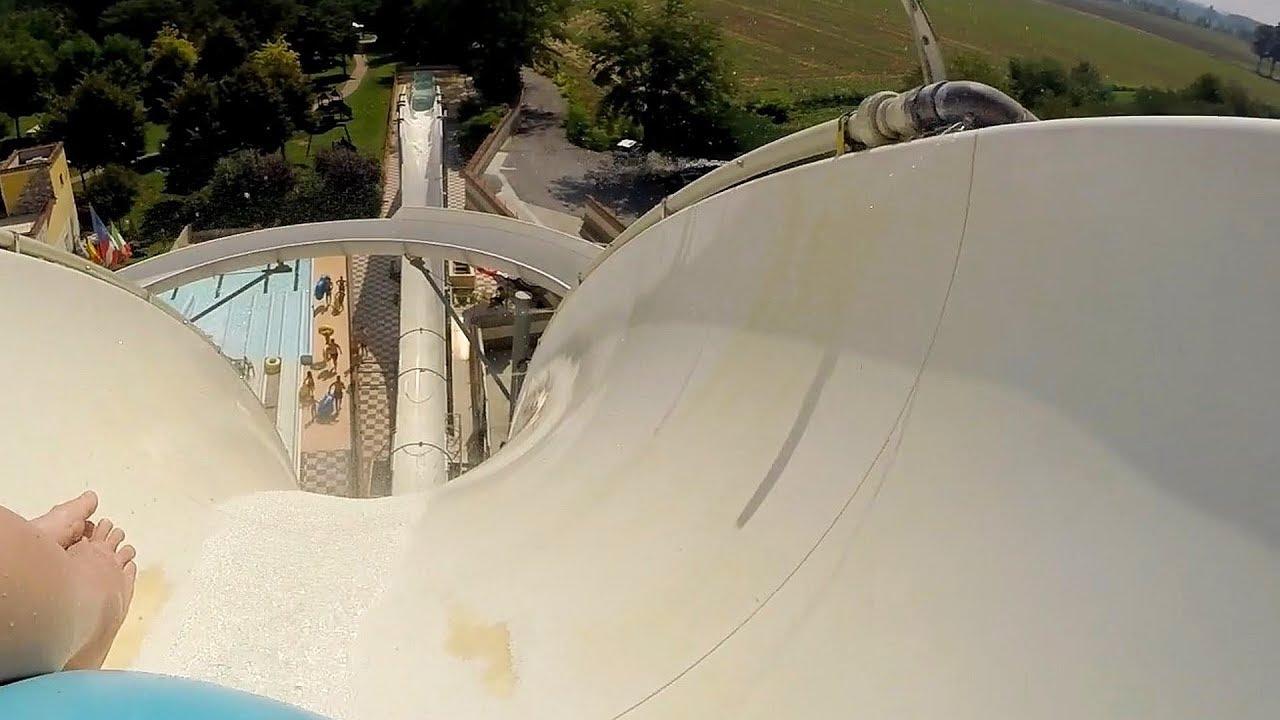 Crazy Hill :: Uphill Reifenrutsche | Le Vele Acquapark San Gervasio Bresciano
