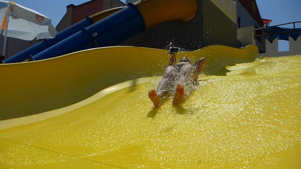 Bibabumma :: gelbe Breitrutsche | Le Vele Acquapark San Gervasio Bresciano