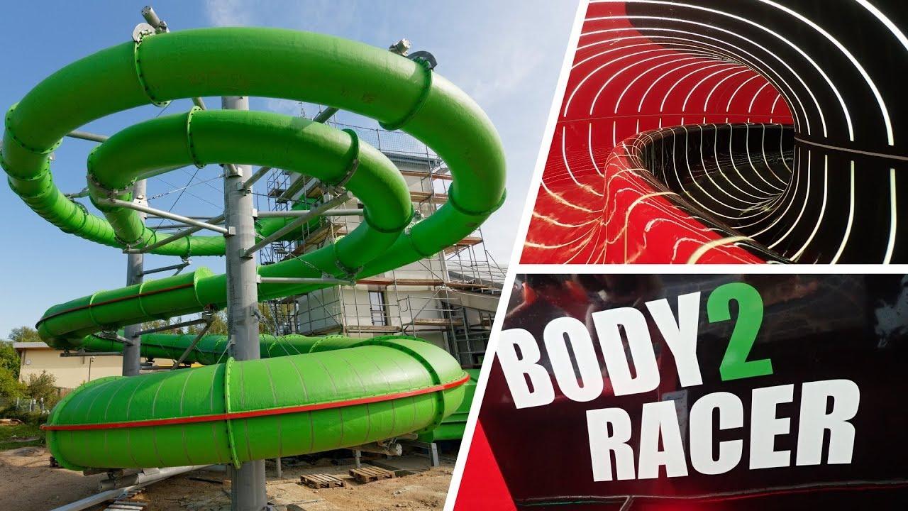 Body2Racer :: Wettkampfrutsche | AquaLaatzium Laatzen [NEU 2018]