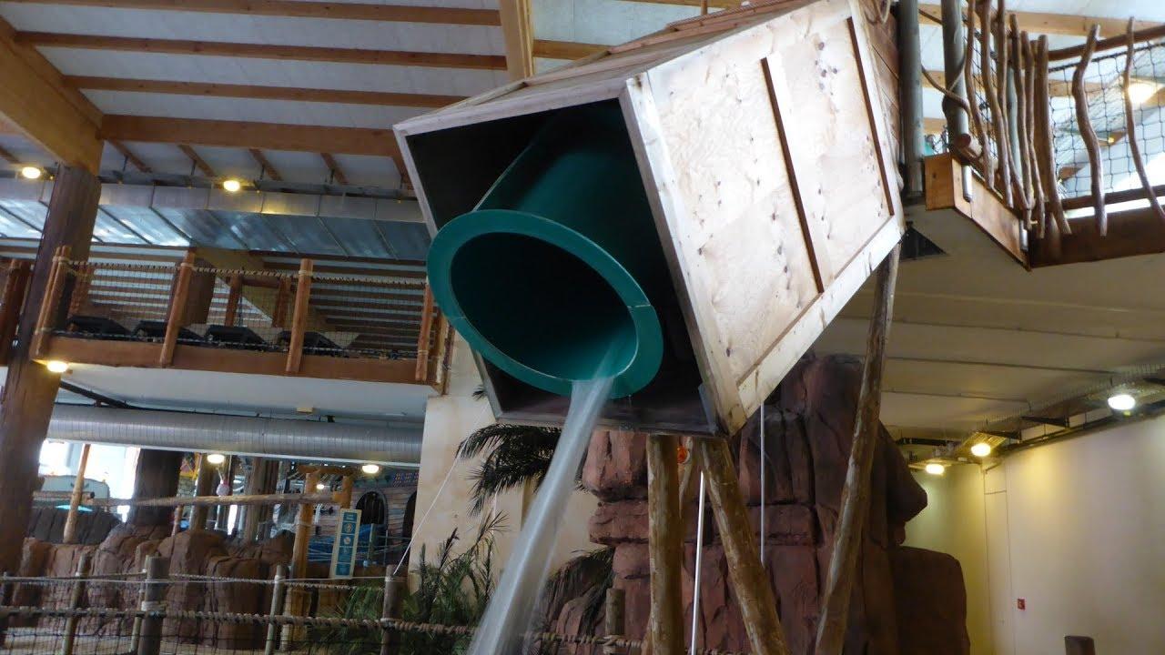 Chute Cascade :: Pelikan-Tauchrutsche | Aquaparc Le Bouveret