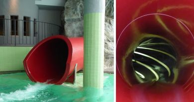 Kinder-Rutsche :: rote Röhrenrutsche | Hotel Schneeberg Ridnaun