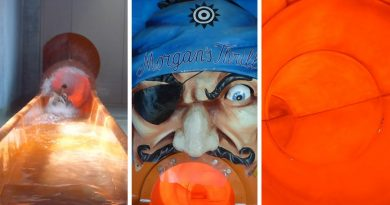 Morgan's Thrill :: orangene Turborutsche | Aquaparc Le Bouveret