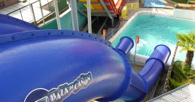 Océade Brüssel - Bala de Cañón Canon Ball Slide Onride