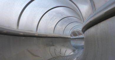 Wellenspiel Meißen - Tunnelrutsche Onride