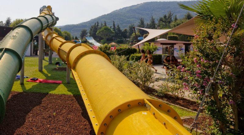 Treccia Twister (gelb) :: Twin-Turborutsche | Acquasplash Franciacorta Corte Franca