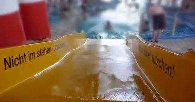 gelbe Breitrutsche | Wonnemar Sonthofen