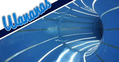 blaue Röhrenrutsche :: Black Hole | Wananas Herne [NEU 2016]