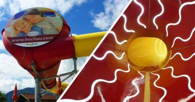 Cone-Slide :: Reifenrutsche   Kinderhotel Buchau Eben am Achensee