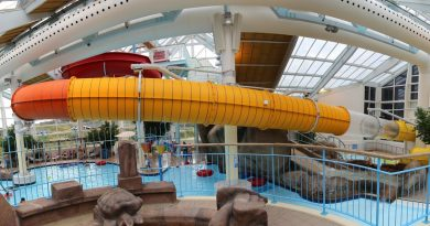 offene Riesenrutsche :: Interaktive Rutsche | Skallerup Seaside Resort Hjørring