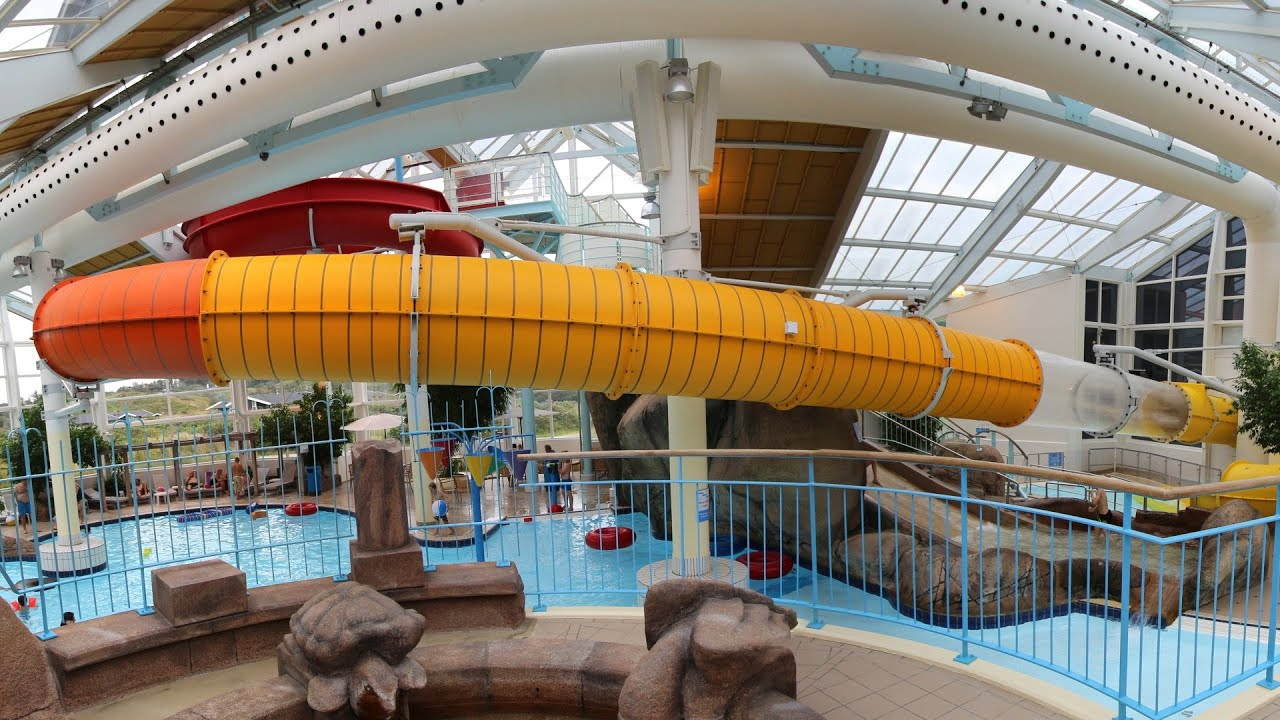 offene Riesenrutsche :: Interaktive Rutsche   Skallerup Seaside Resort Hjørring