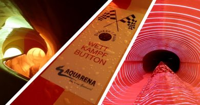 Body Racer Wettkampfrutsche :: Doppelrutsche | Hallenbad Nordost Nürnberg [NEU 2017]