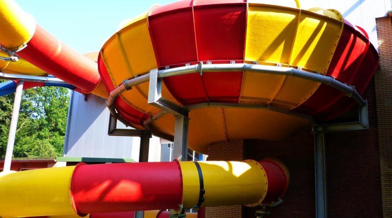 Reifen-Trichterrutsche :: Rafting Funnel Slide | Topas Spaßbad Schloss Dankern (Haren/Ems)