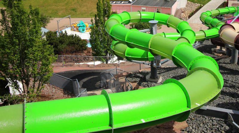 "Snakepit ""Mamba"" :: grüne Turborutsche | Skara Sommarland"