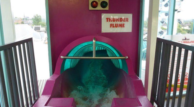 Thunder Flume :: rasante Riesenrutsche | The Time Capsule Coatbridge