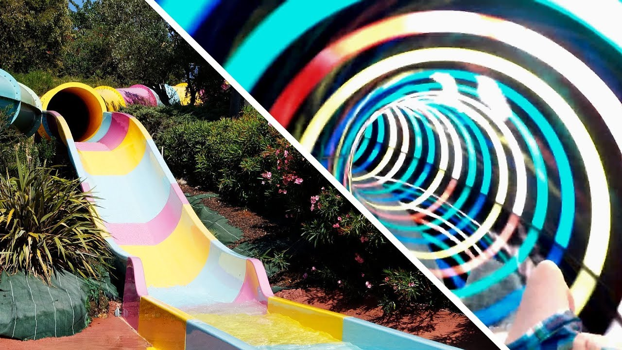 Flying Boat :: Reifenrutsche mit Daylight-Ringen | Aqualand Fréjus