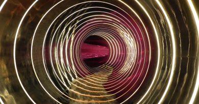 Black Hole Röhrenrutsche :: Effektrutsche   Hase Bad Bramsche