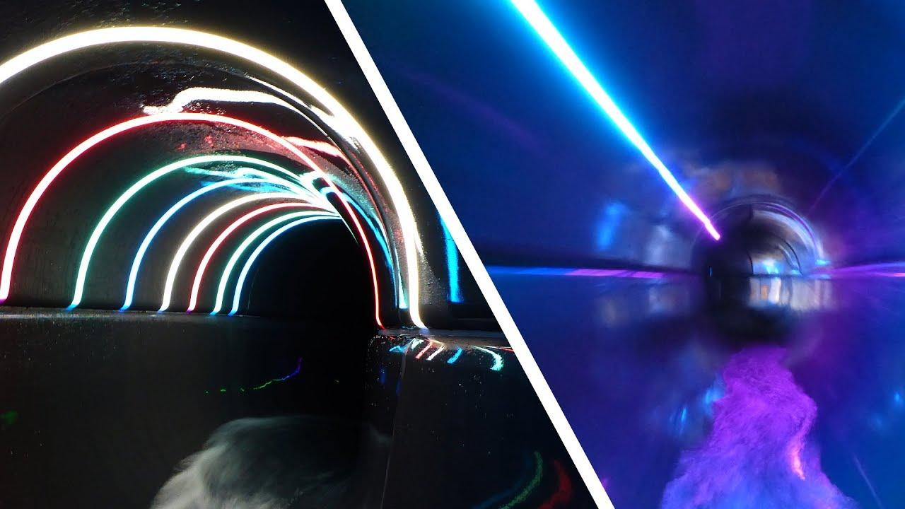 Black Hole Röhrenrutsche :: Northern Light Slide | De Scheg Deventer