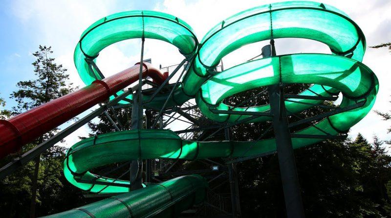 grüne Riesenrutsche :: Groene Boschbaan | Boschbad Apeldoorn