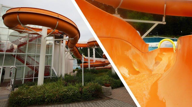 offene Riesenrutsche :: Freibadrutsche | Massenei-Bad Großröhrsdorf