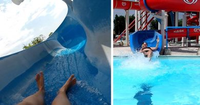 Toboga blu :: offene Riesenrutsche | Acquatica Park Mailand
