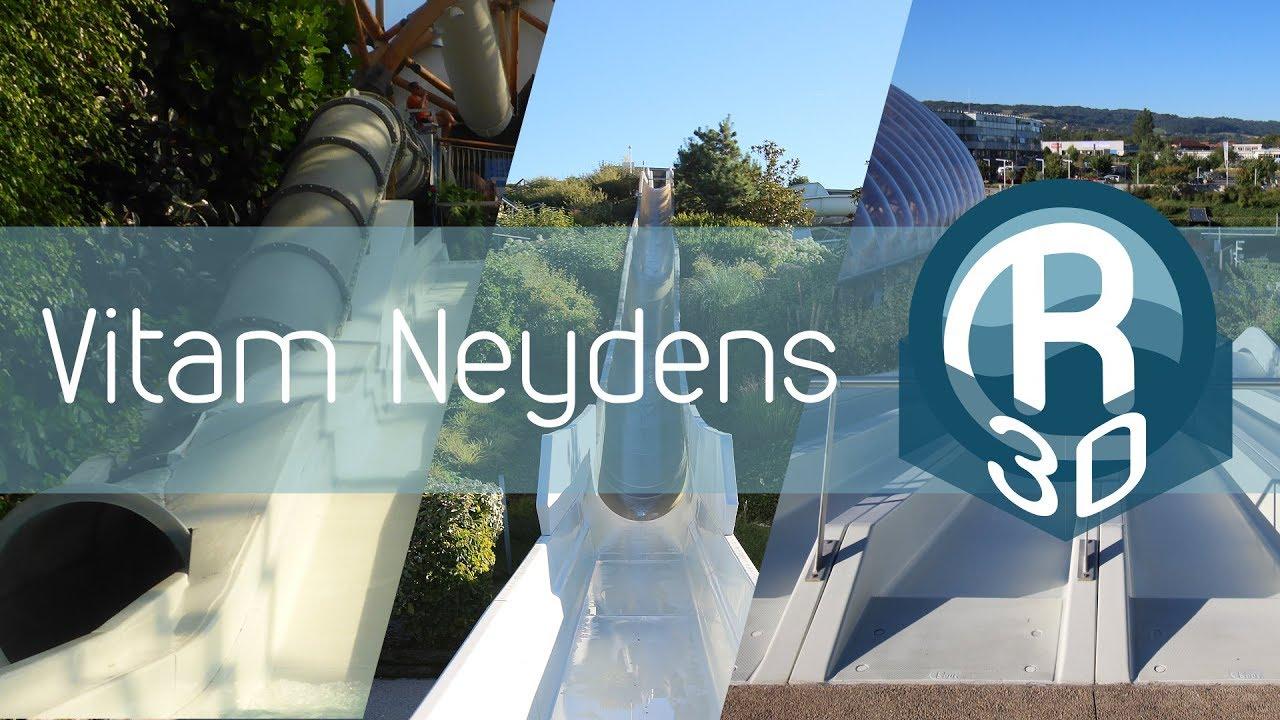 Vitam Parc aquatique Neydens - alle Rutschen in 3D :: 3D-Onrides!