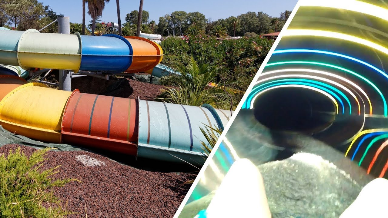 Magic Slide :: ovale Reifenrutsche | Aqualand Fréjus