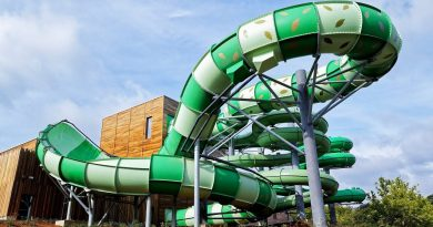 Aquaventure :: BigSwing Water Slide | Bellewaerde Aquapark Ypern