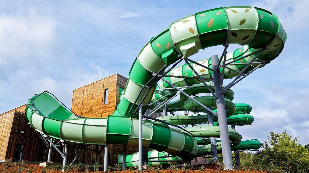 Aquaventure :: BigSwing Water Slide   Bellewaerde Aquapark Ypern