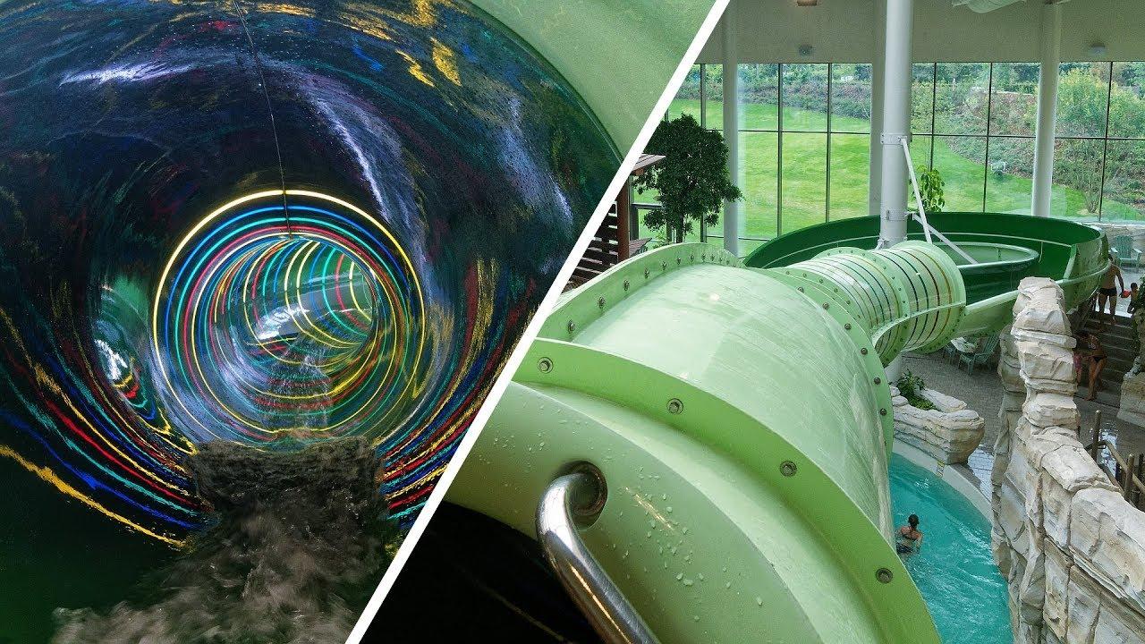 Regenboog :: Rainbow Water Slide | Bellewaerde Aquapark Ypern