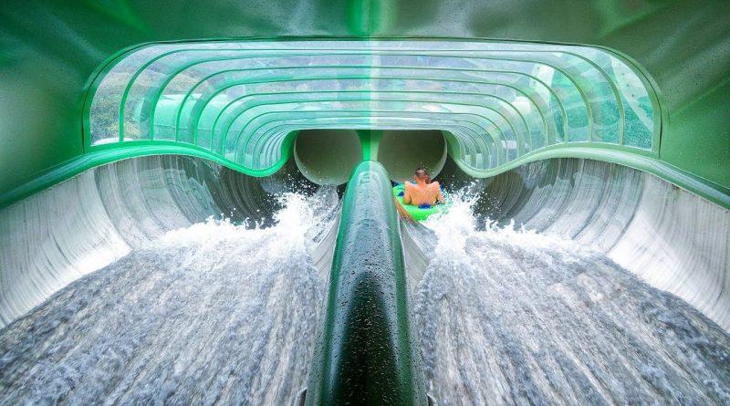 Splash Clash :: Doppel-Reifenrutsche | Bellewaerde Aquapark Ypern